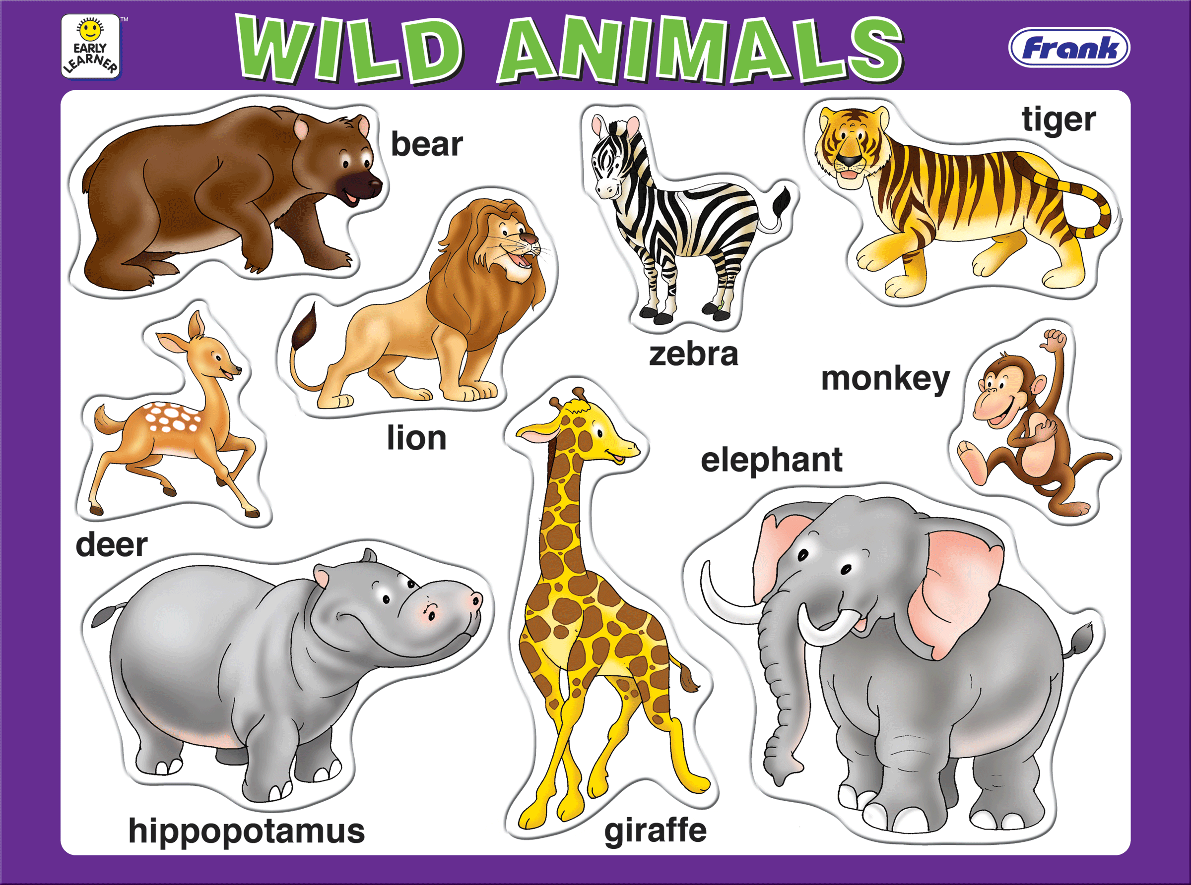 domestic and wild animals In animals | cartoons & characters | templates & mockups | children & kids cartoon domestic and wild animals pack, it includes animals from the jungle, domestic and farm animals these are nice vector to use in ecologic campaigns, farm products, zoos, stories or products for children, etc.
